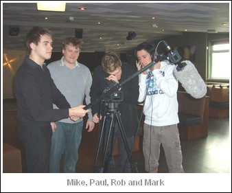 Mike, Paul, Rob and Mike
