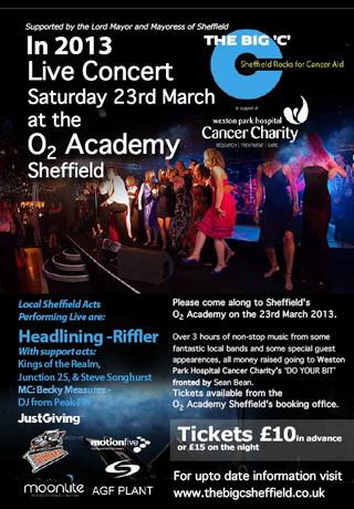 Live Concert 23rd March 2013 at the O2 Academy Sheffield